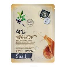 Shelim - Тканевая маска для лица с натуральным экстрактом улиточного муцина Ultra Hydrating Essence Mask Snail, 25 мл