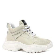 Кроссовки ABRICOT 8088-1 бело-серый