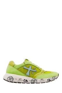 Желтые кроссовки Premiata