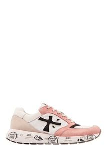 Розово-белые кроссовки Premiata