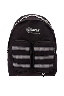 Черный рюкзак Eastpak x White Mountaineering Doublr