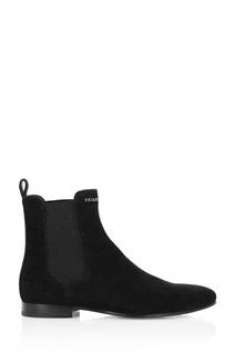 Черные ботинки с эластичными вставками Philipp Plein