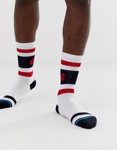 Белые носки с полосками Carhartt WIP Fairfield - Белый