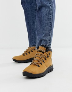 Бежевые походные ботинки чукка Timberland World - Бежевый