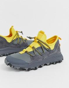 Желто-серые кроссовки Timberland Brooklyn - Серый