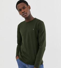 Зеленый узкий лонгслив Farah Farris - Зеленый