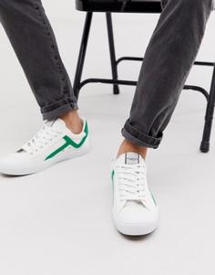 Парусиновые кроссовки Selected Homme - Белый
