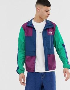 Разноцветная куртка The North Face 1985 Seasonal Mountain - Фиолетовый