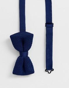 Вязаный галстук-бабочка Jack & Jones - Красный