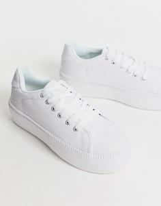 Кроссовки на платформе Truffle Collection - Белый