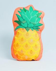 Подушка для дома и улицы в виде ананаса Sunnylife - Желтый