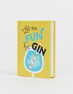 Книга рецептов коктейлей Let the fun be gin - Мульти Books