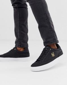 Черные кроссовки SikSilk - Черный