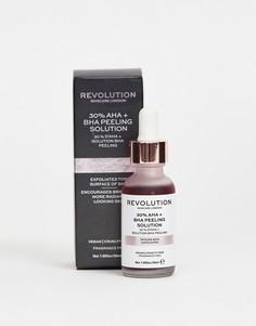 Отшелушивающее средство Revolution Skincare Intense Skin - пилинг с 30 % AHA + BHA - Бесцветный