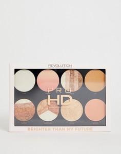 Палитра хайлайтеров Revolution Pro HD - Brighter Than My Future - Мульти