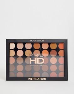 Набор из 35 матовых теней для век Revolution Pro HD Amplified - Inspiration - Мульти