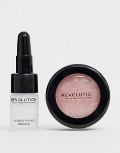 Блестящие тени для век Revolution Flawless Foils - Rival - Золотой