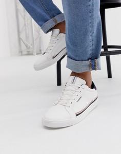 Кроссовки с джинсовыми вставками Jack & Jones - Белый