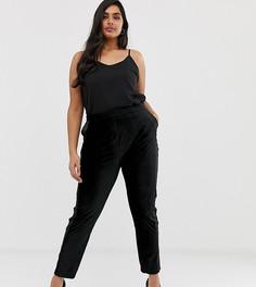 Бархатные брюки Lovedrobe - Черный
