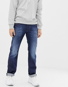 Прямые джинсы Diesel Larkee 087AN - Синий