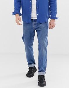 Синие джинсы Weekday - Черный