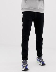 Черные джинсы слим с выбеленным эффектом Esprit - Черный