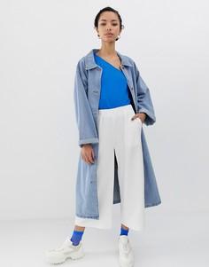 Укороченные брюки Dr Denim - Белый