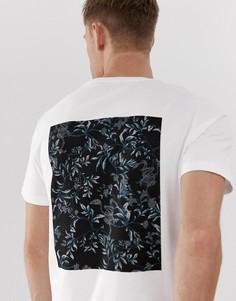 Белая футболка с короткими рукавами Jack & Jones Premium - Белый