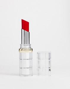 Губная помада LOreal Paris Color Riche Shine 350 Insanesation - Красный LOreal