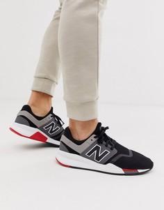 Черные кроссовки New Balance 247v2 - Черный