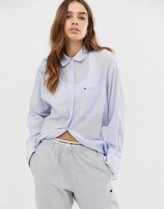 010fe4b3bce Женские рубашки с длинным рукавом базовые – купить в интернет ...