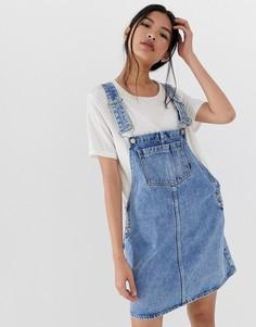 efc54d53c01 Женские джинсовые комбинезоны базовые – купить в интернет-магазине ...
