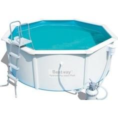 Каркасный бассейн Bestway Hydrium Pool Set 300x120 см (56566 ) 7630 л