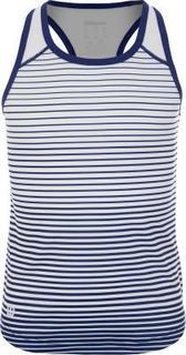 Майка для девочек Wilson Team Striped, размер 118-124