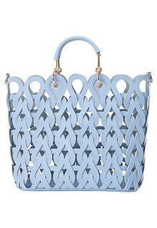 Ажурная сумка из экокожи Снежная Королева