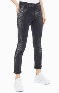 Серые джинсы прямого кроя Krailey-B-NE Diesel