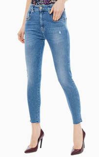 Рваные джинсы с высокой посадкой Slandy-High Diesel