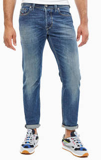 Зауженные джинсы с заломами Larkee-Beex Diesel