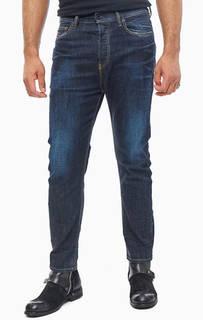 Зауженные джинсы с заломами D-Vider Diesel