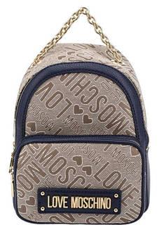 Маленький рюкзак с широкими лямками Love Moschino