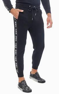 Черные брюки джоггеры Diesel