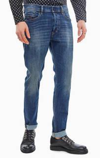 Зауженные джинсы с заломами Tepphar Diesel