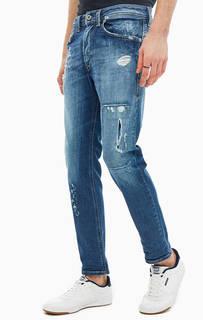 Рваные зауженные джинсы Thommer-T Diesel