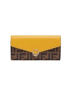 Fendi кошелек дизайна колор-блок