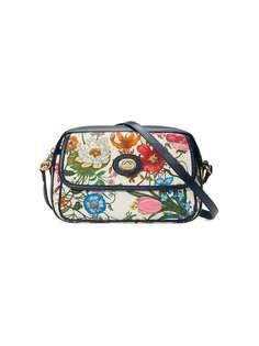 Gucci маленькая сумка на плечо с принтом Flora