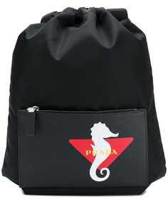 Prada нейлоновый рюкзак