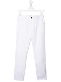 Emporio Armani Kids брюки чинос кроя слим