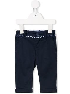 Emporio Armani Kids брюки чинос с декоративной отделкой