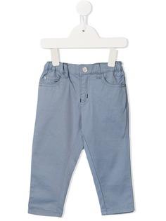 Emporio Armani Kids эластичные брюки чинос