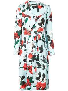 Alice+Olivia structured floral coat